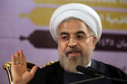 Iranian President Hassan Rouhani did not rule out a potential alliance with America to help rid Iraq of the extremist threat. Photo / AP