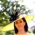 A race goer wears an ornate hat on the first day of the Royal Ascot horse racing meeting in Ascot, England. Photo / AP