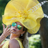 Ester Dohnalova poses for a photograph, on the first day of the Royal Ascot horse racing meeting, in Ascot, England. Photo / AP