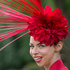 Jaqui Jaynes wears an ornate hat on the second day of the Royal Ascot horse racing meeting at Ascot, England. Photo / AP