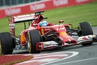 Fernando Alonso could lose his Ferrari drive if the team decide to concentrate on endurance racing. Picture / AP