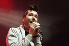 Dan Smith of the band Bastille, now over his stage fright (AP).