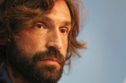 Italy's Andrea Pirlo listens to a question during a press conference at the Casa Azzurri in Mangaratiba, Brazil. Photo / AP