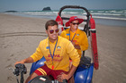 Lifeguards Jackson Edwards (left) and Steven Gregory could become more of a regular feature at Tay st Beach. Photo/file