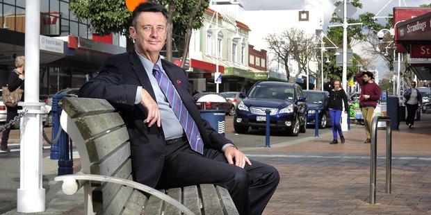 Mayor Stuart Crosby.