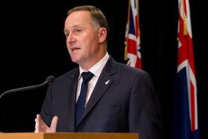 Prime Minister John Key. Photo / NZH