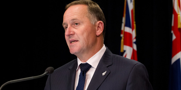 The PM has said NZ is not interested in spying, policies, Kim Dotcom, the teapot tapes, muck-raking, and nearly anything that is not health, education, the economy or rugby. Photo / NZH