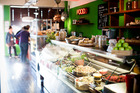 Ripe Deli's assortment of salads which can be taken home. Picture / Babiche Martens.