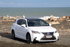 Lexus CT200h Limited. Photo /  Stuart Munro
