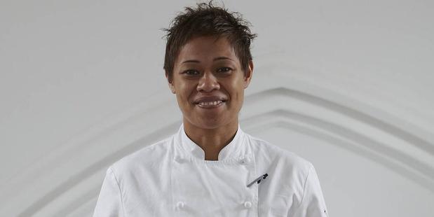 Monica Galetti, Samoan-born Kiwi chef who works in the UK.