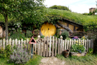 Hobbit holes from the movie set of 'The Hobbit' in Matamata. Photo / Christine Cornege