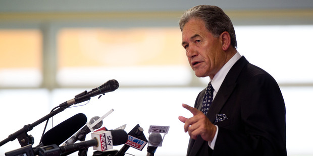 New Zealand First Leader Winston Peters. Photo / Richard Robinson