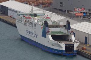 The Interislander ferry Aratere. Photo / Mark Mitchell