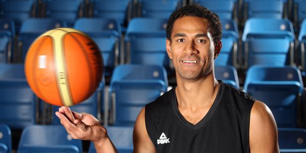 ika Vukona, the Tall Blacks captain, will lead his team back home in Tauranga, where he learned his craft. Photo / APN