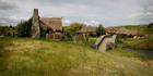 The tour of Hobbiton explains the tricks of the films, such as scale and perspective. Photo / Christine Cornege