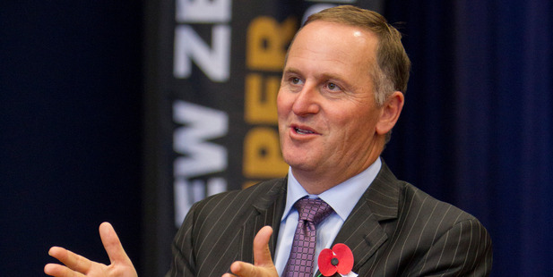 John Key says he will be straightforward in his signals this time. Photo / APN
