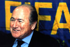 Fifa President Sepp Blatter. Photo / Paul Estcourt