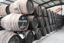 Criadera barrels at the Capirete factory. Photo / Supplied, Paris Tourist Office.