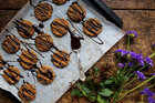 Try these cinnamon-spiced pumpkin and hazelnut cookies. Picture / Eleanor Ozich.