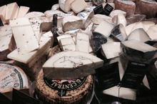 Cheeses from the Grande Epicerie at Bon Marche. Photo / Supplied, Paris Tourist Office.