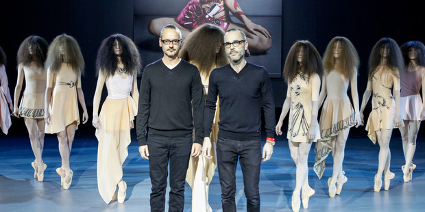 Designers Viktor Horsting and Rolf Snoeren. Picture / Supplied