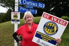 Sandi Adams has urged the public to form neighbourhood watch groups in their neighbourhood to fight crime.Photo/John Stone