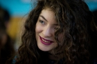 Lorde is putting her weight behind a campaign urging people to vote. Photo / Sarah Ivey
