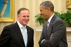 John Key says NZ and the US understand each other and 'back each other up'. Photo / AP