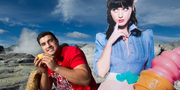 Te Puia's Eruera West needs the Rotorua community's help getting pop star Katy Perry to the city. Photo/Ben Fraser