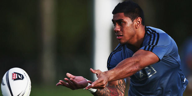 Malakai Fekitoa replace Conrad Smith at centre to face England on Saturday. Photo / Getty Images