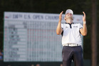 Martin Kaymer, of Germany celebrates after winning the U.S. Open. Photo / AP