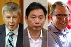 Maurice WIlliamson, Donghua Liu and John Banks. Photos / APN, file