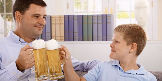 What sort of rule do you have about kids and alcohol? Photo / 123RF