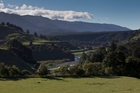 SUSTAINABLE: Proposed site of the Ruataniwha irrigation dam. PHOTO/FILE