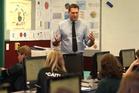 Otumoetai College teacher Mike Shadbolt finds teaching teens maths fulfilling. Photo/John Borren