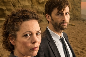 Olivia Colman plays policewoman Ellie Miller and David Tennant is detective Alec Hardy.