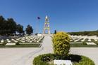 The memorial stone at Anzac Cove in Gallipoli. Photo / Thinkstock
