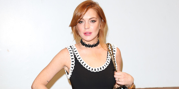 Lindsay Lohan. Photo / Getty Images