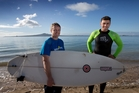 Duncan Turnbull, left, and Ben Kennedy of Coastlines, whose operations will now be cloud-based. Photo/ Brett Phibbs