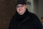 The lawyer for Kim Dotcom (right) wants notes used by journalist David Fisher for his book.