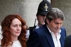 Rebekah Brooks and her husband, Charlie, were cleared of all charges and were front-page news in Britain with Andy Coulson, who was found guilty. Photo / AP