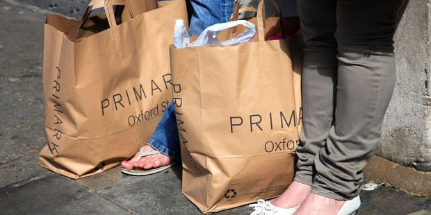 "Rebecca Gallagher, 25, claims that a £10 dress that she purchased from a Primark store in Swansea contained a label reading ""forced to work exhausting hours"". Photo / 123RF"