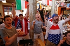 Record numbers of Americans are following the team's fortunes at the football World Cup. Photo / AP