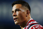 Sonny Bill Williams' agent Khoder Nasser held a secret meeting with All Black coach Steve Hansen at Hamilton's Novotel Tainui hotel on Sunday morning. Photo / Getty.