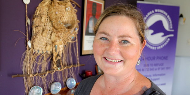 Tauranga Women's Refuge manager Angela Warren-Clark questioned whether a new law to protect victims will actually work.