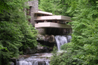 The Fallingwater House is architect Frank Lloyd Wright's most famous design. Photo / Creative Commons image by Flickr user Rob Williams