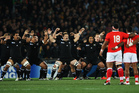 The haka may not be the best way for the All Blacks to be level-headed at the start of a test. Photo / Getty Images