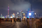 The waterfront area of Shanghai, the Bund. Photo / Mark Mitchell
