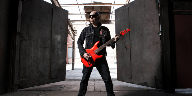 Expect high-energy shows from the legendary Joe Satriani when he returns to New Zealand for two spring gigs in November.
