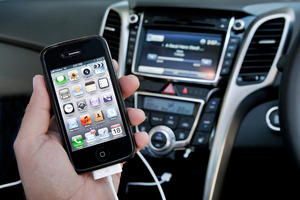 Who was the first to add in car iPod connectivity?. Photo / Supplied